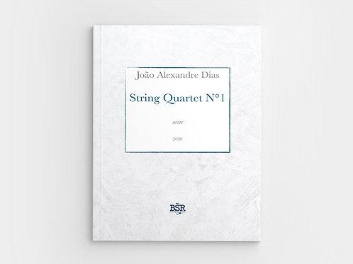 String Quartet N°1 | João Alexandre Dias