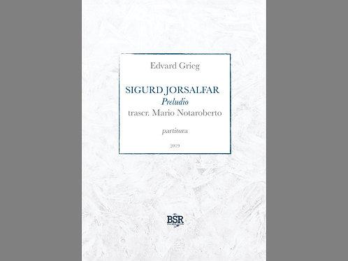 Preludio dal Sigurd Jorsalfar di E. Grieg   Mario Notaroberto