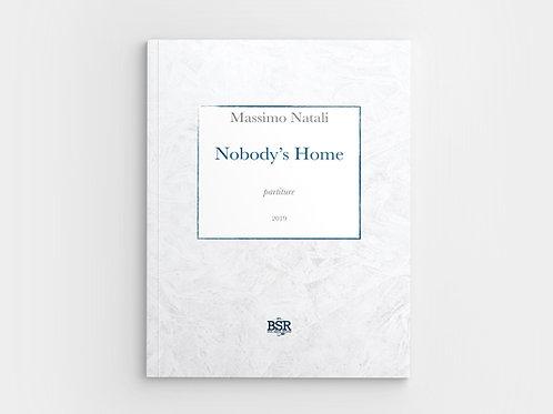 Nobody's Home | Massimo Natali