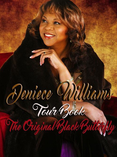 Deniece Williams Original Black Butterfly TOUR BOOK