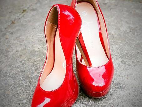 Schuhe machen glücklich - frei gelassene Sehnsüchte auch!