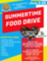 Summertime. Food Drive.jpg