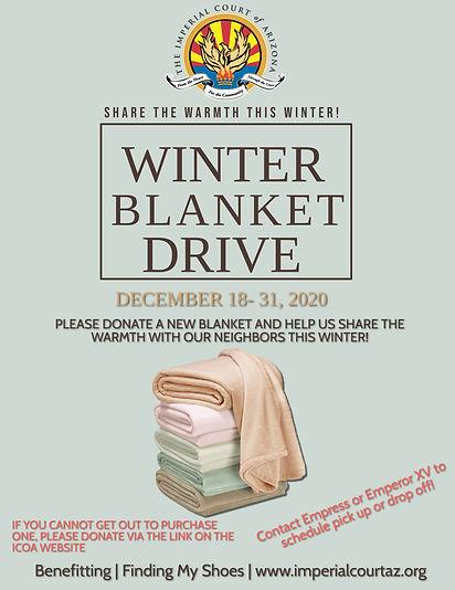 Copy of Winter Blanket Drive Flyer Templ