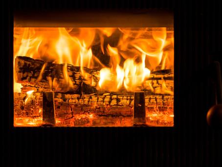 美しい炎に出会う