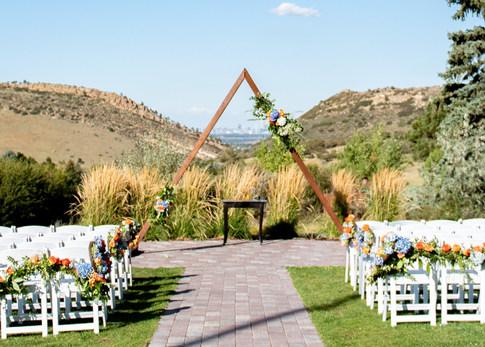 Succulent & Floral Arbor, Ceremony Garland & Wreaths