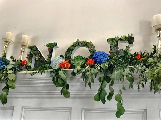 Last Name Succulent Letters
