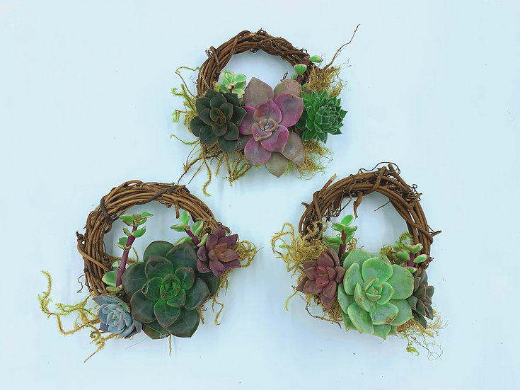 Mini Wreath Ornaments