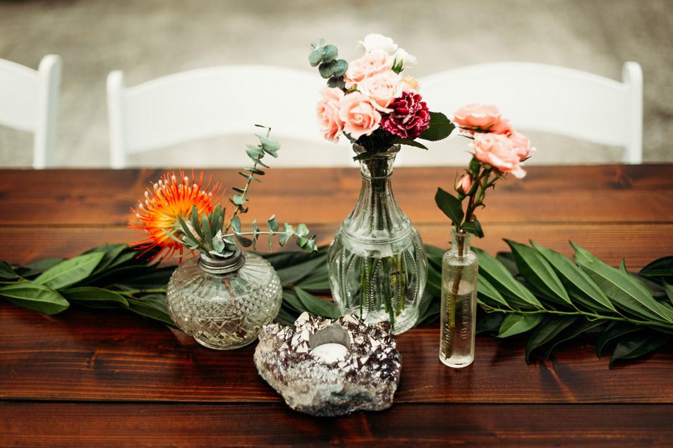 Wedding Reception Centerpieces