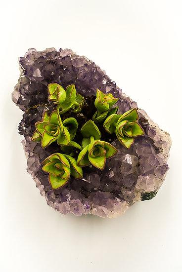 Amethyst Succulent Crystal