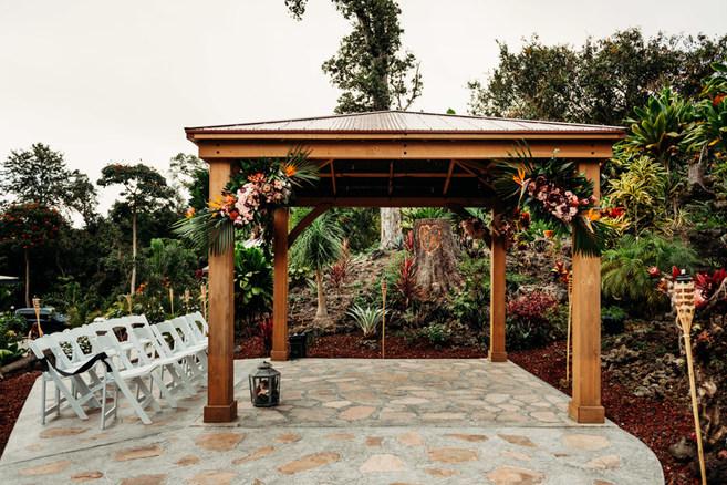 Wedding Arbor Arrangements