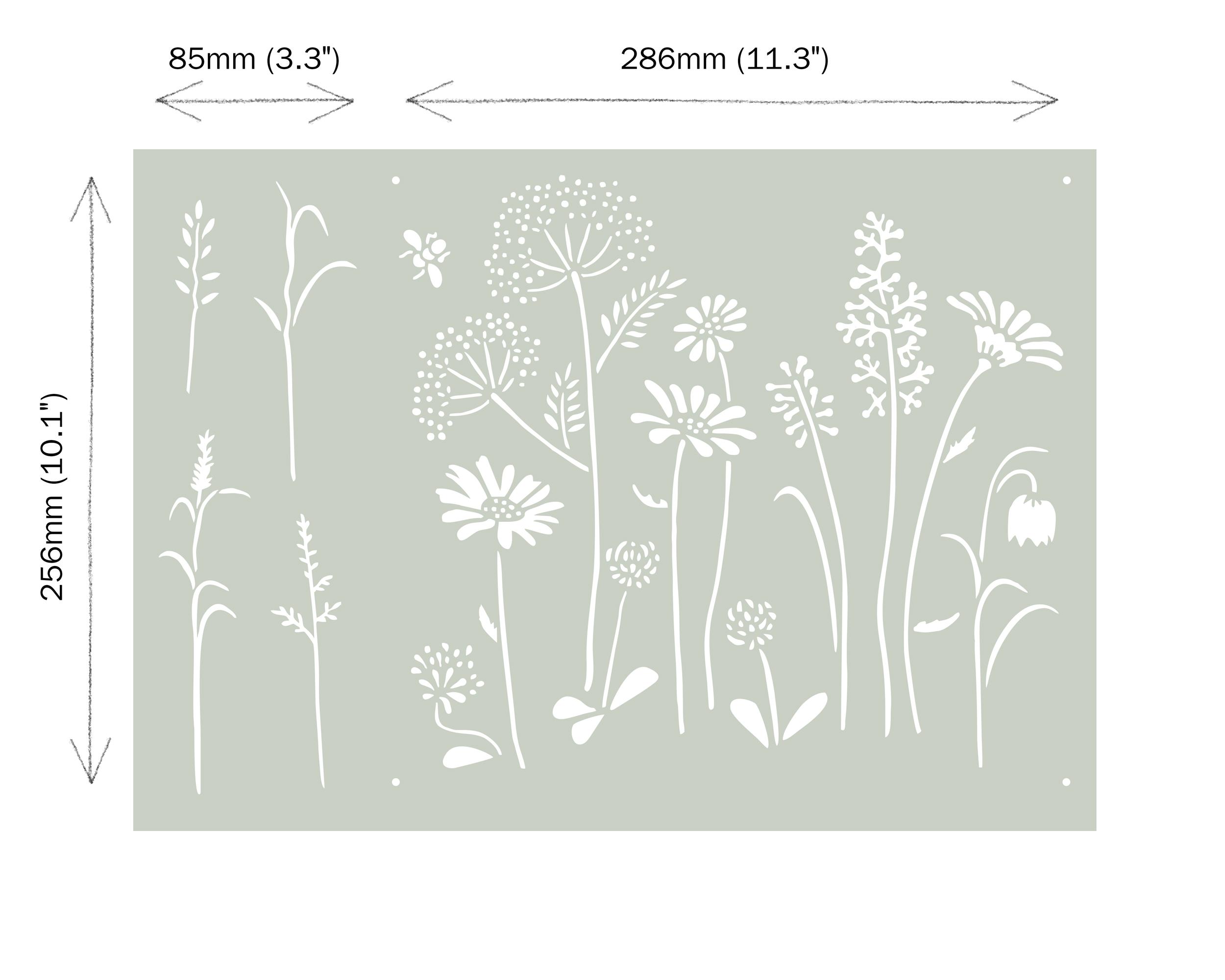 Meadow-Flowers-Annie-Sloan-Stencil-dimen