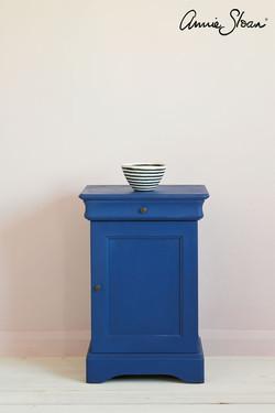 Napoleonic-Blue-side-table,-Antoinette-W