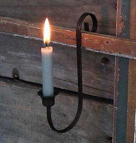 Altfranz.Kerzenhalter f. Spitzkerzen2.jp