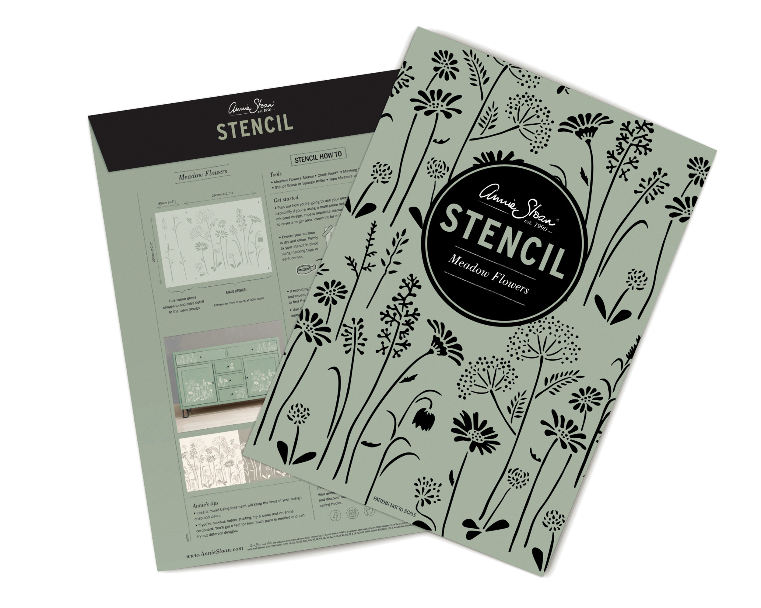 Meadow-Flowers-Annie-Sloan-Stencil-packa