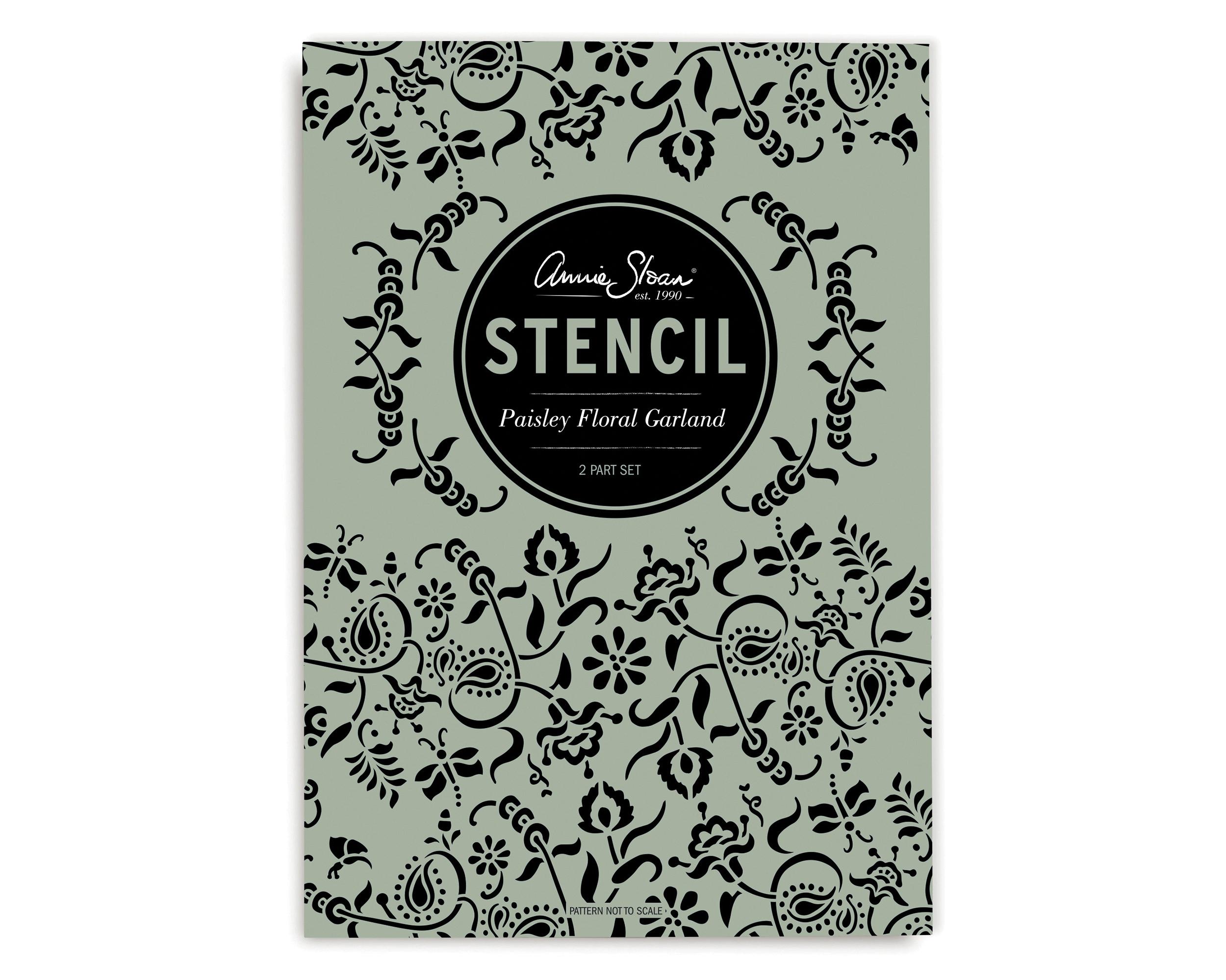 Paisley-Floral-Garland-Annie-Sloan-Stenc