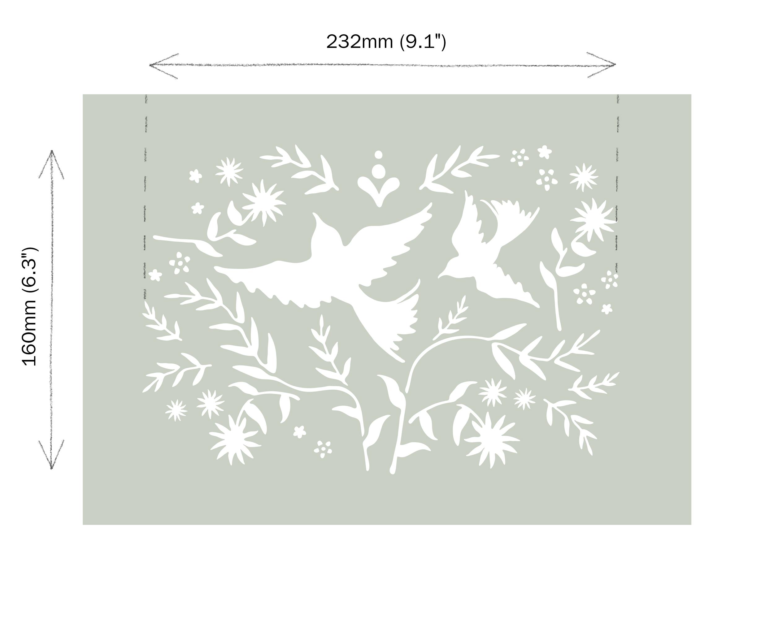 Mexican-Birds-Annie-Sloan-Stencil-dimens