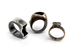 Black Beauty 3 Rings