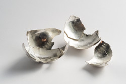 Broken Globe Silver 2