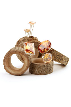 Sandra Schmid Wooden Rings