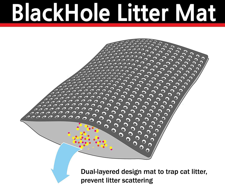 BlackHole Litter Mat illustration