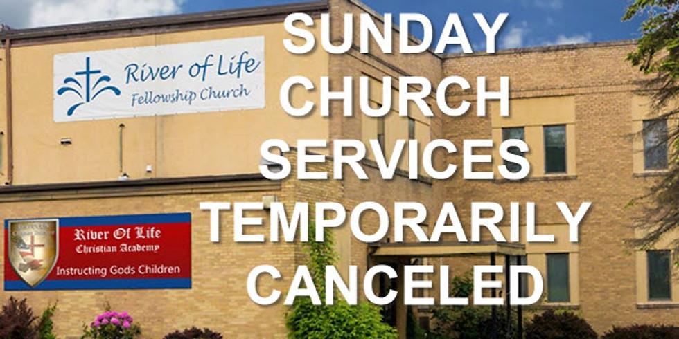 Sunday Church Services Canceled