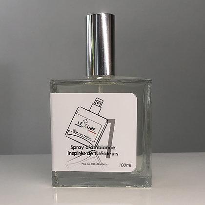 Le Cube Spray pour Elle n°1 - Inspiration olfactive BLACK OPIUM de YVES ST LA