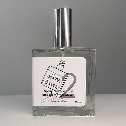 Le Cube Spray pour Elle n°2 - Inspiration olfactive LA VIE EST BELLE de LANCÔ