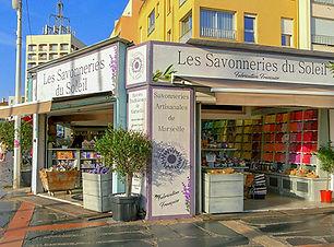 Magasin Les Savonneries du Soleil Port L