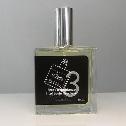 Le Cube Spray pour Lui n°3 - Inspiration olfactive 1 MILLION de PACO RABANNE