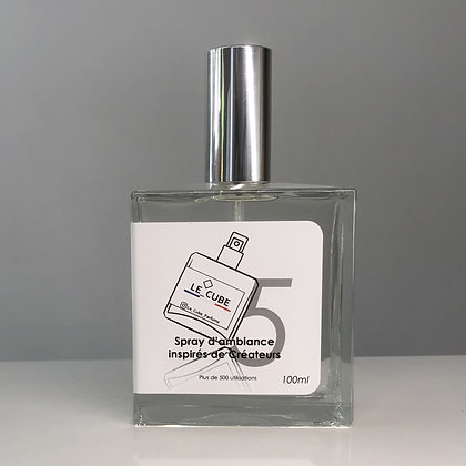 Le Cube Spray pour Elle n°5 - Inspiration olfactive FLOWER by KENZO