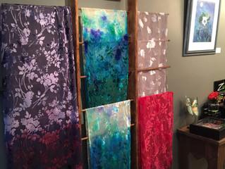 Holiday Silk & Velvet Scarves