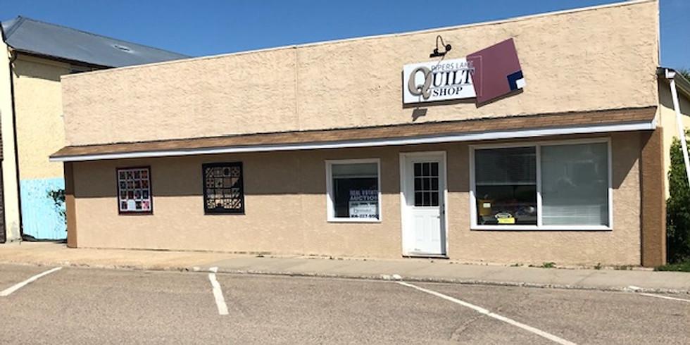 Pipers Lake Quilt Shop Real Estate & Contents LIVE ONLINE Auction Sale
