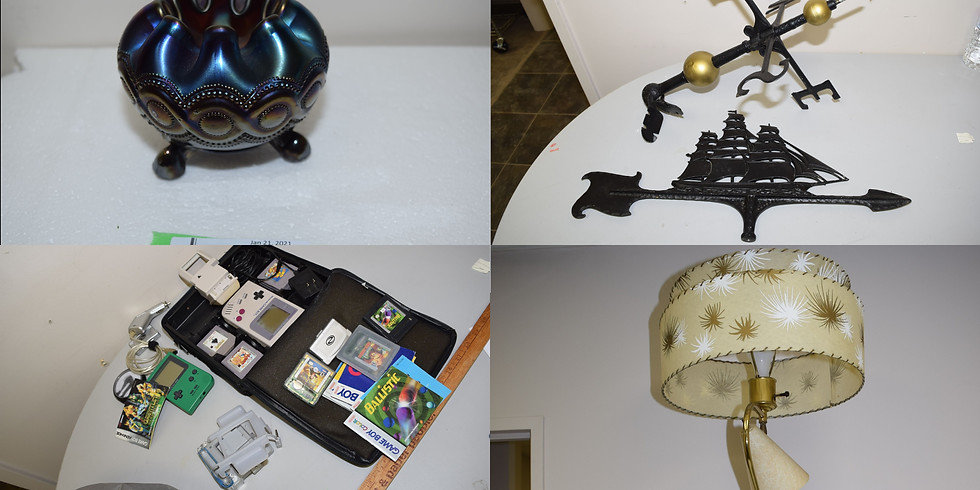 January 21st TIMED ONLINE Auction Sale