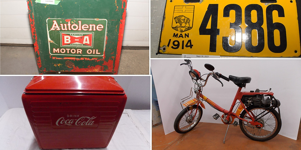 September 16th Specialty Timed Online Auction Sale