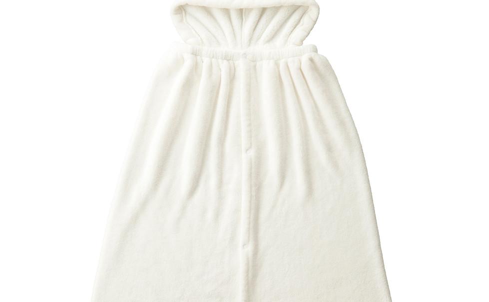 hooded towel polar bear