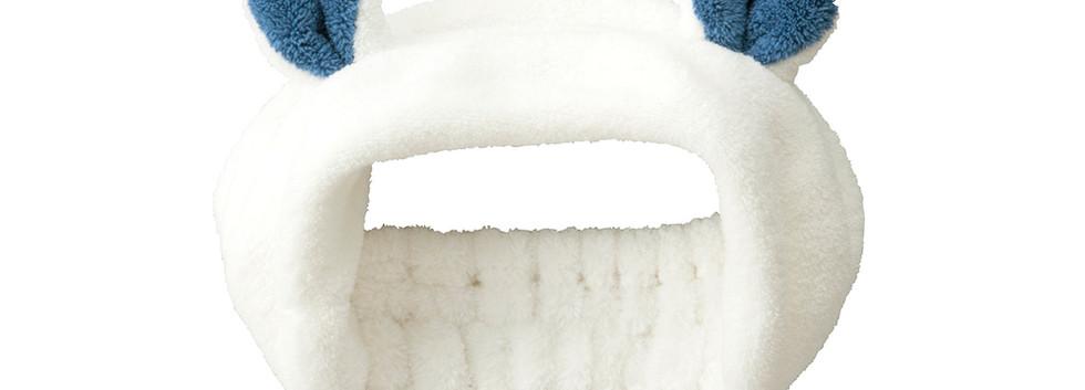 hair band polar bear