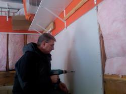 Rob hard at work!