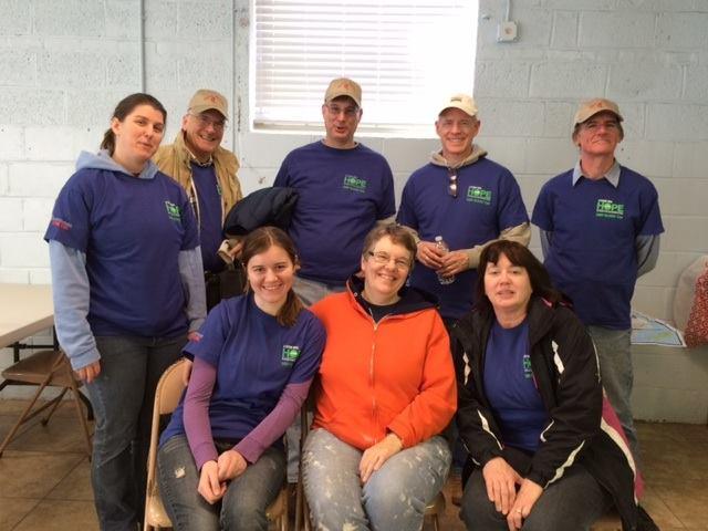 Sandy Relief Mission Trip Feb. 2015