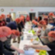 90+ volunteers packed 10,152 meals in le