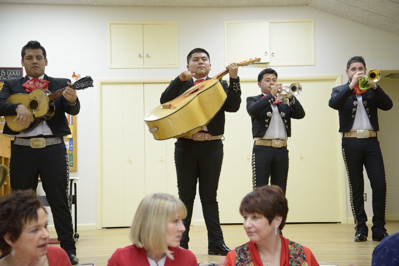 Amistad Christmas Party Musicians