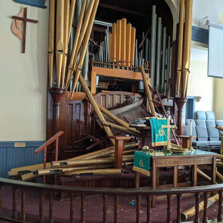 Pastor's Statement on Vandalism of the Organ