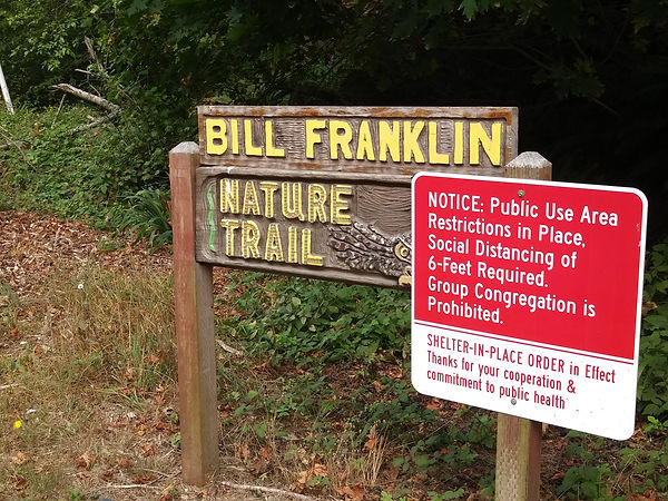 Bill F trail sign with covidsign.jpg