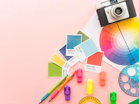A importância das cores no marketing/design