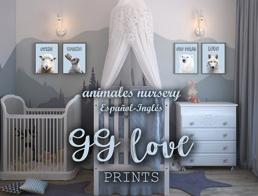 Habitacion bebe-Animales Nursery-GG love
