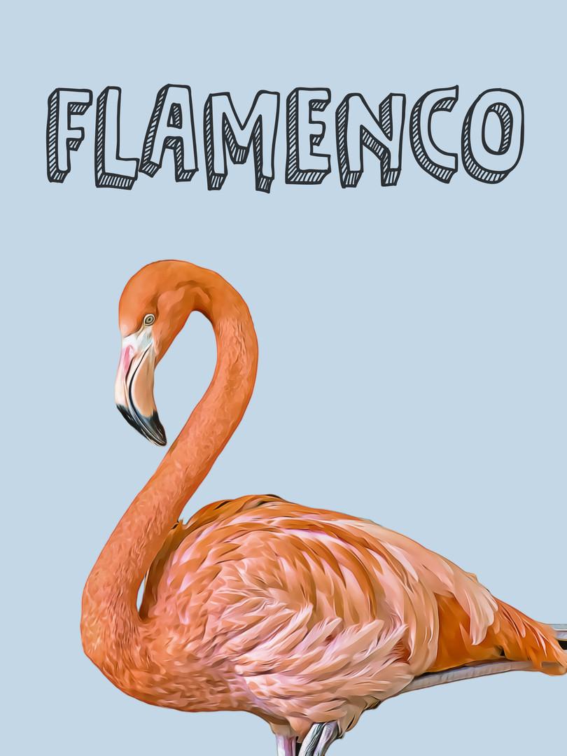Flamenco-Sé único-Animales Nursery