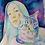 Thumbnail: Retrato multicolor en Acuarelas (dos personas o animales)