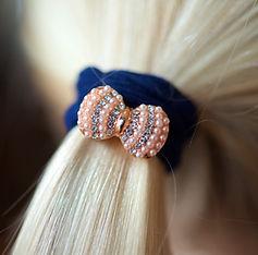 Hair style Bling Bow Navy-1.jpg