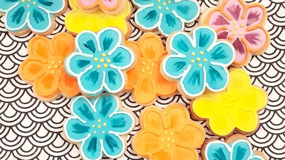Fleurs pop
