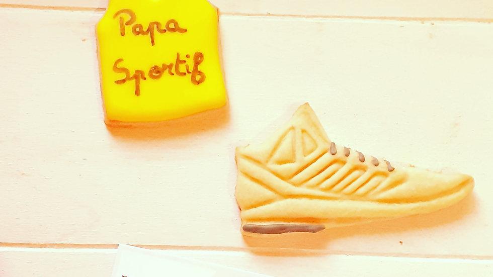 Papa sportif