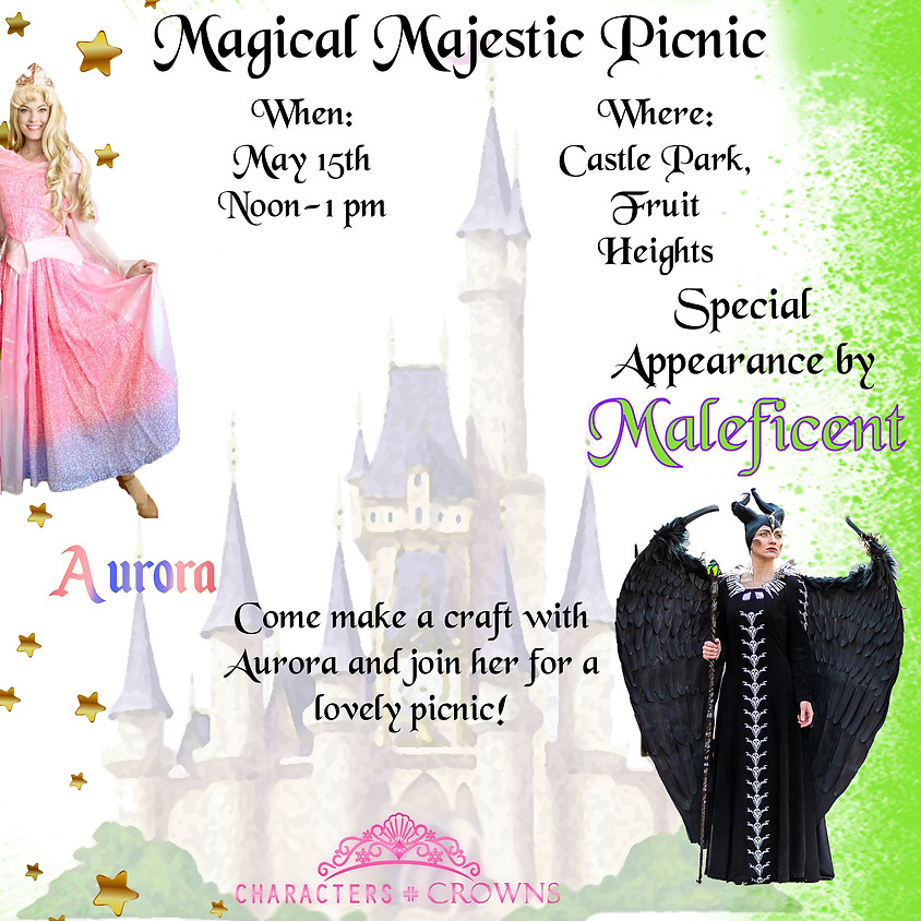 Aurora and Maleficent Picnic Party